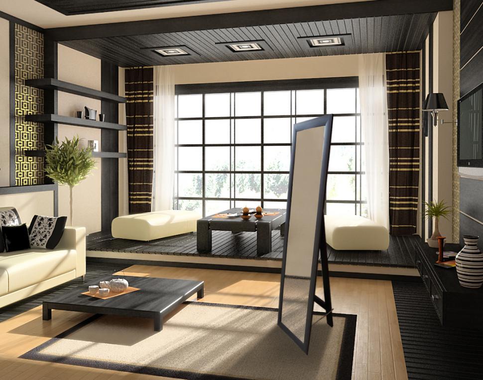 Современная японская квартира фото
